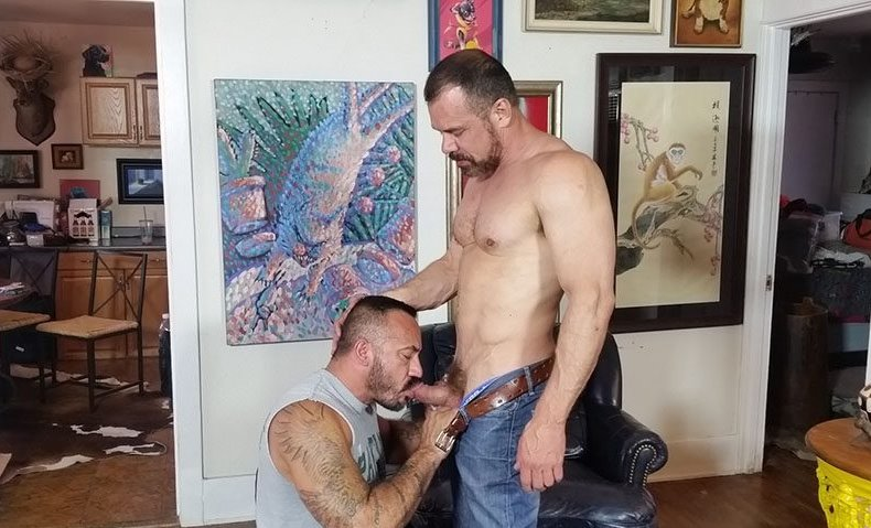 Max Sargent Fucks Alessio Romero | Hot Older Male