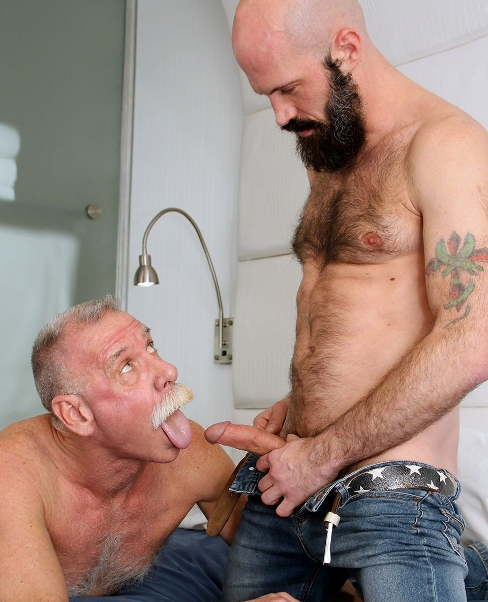 horny older male